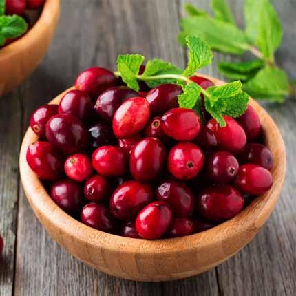 Actif : Cranberry - Soin des Mains