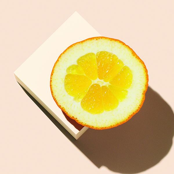 Actif : HE d'orange & de citron - Mousse Nettoyante à la Noix de Coco & au Matcha