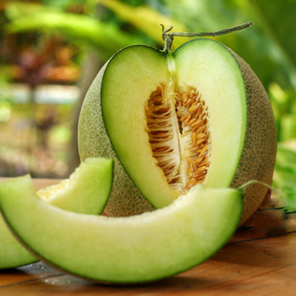 Actif : Melon galia - Gel Douche Énergisant Melon Galia