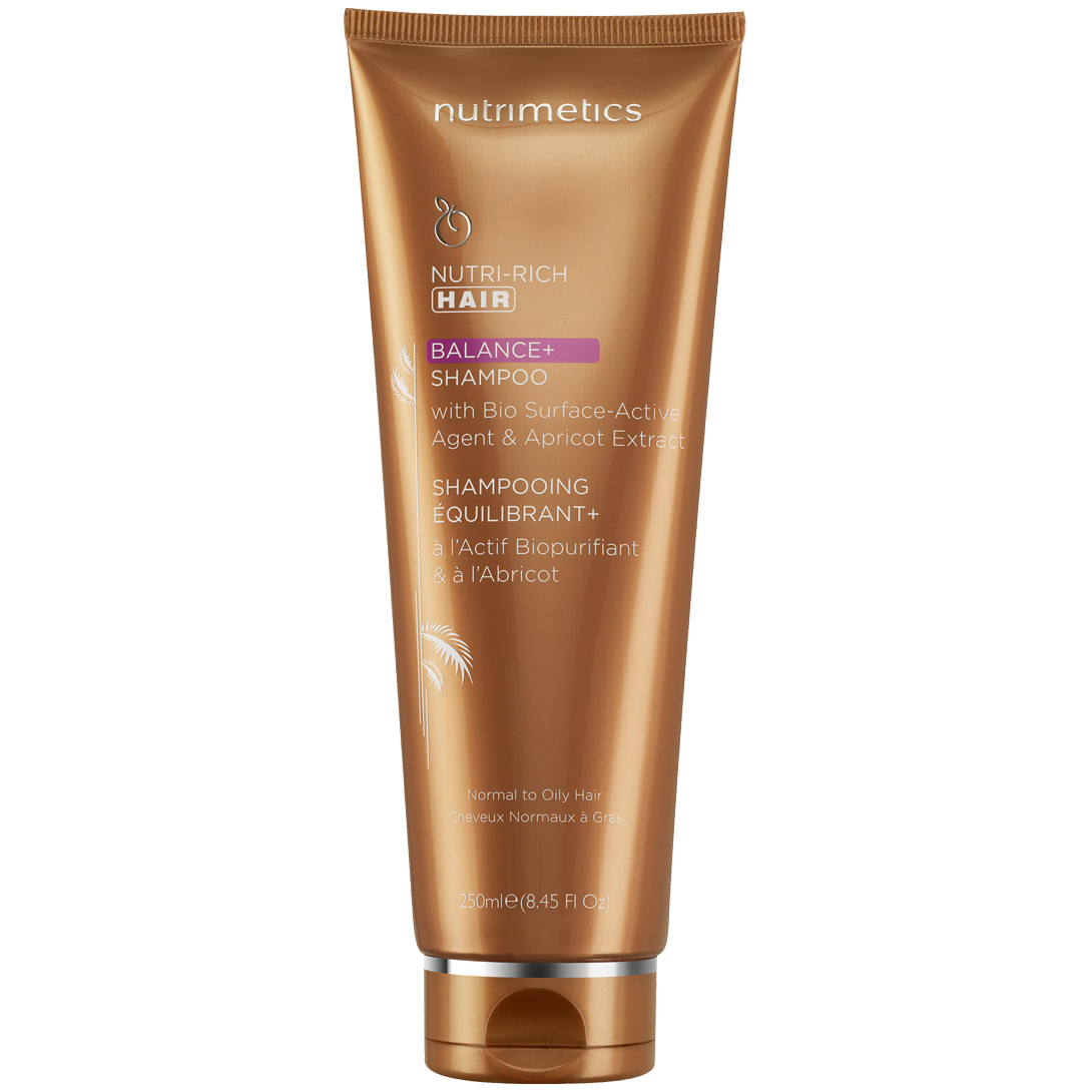 Produit - Nutrimetics France : Shampooing Équilibrant+ - Soin capillaire