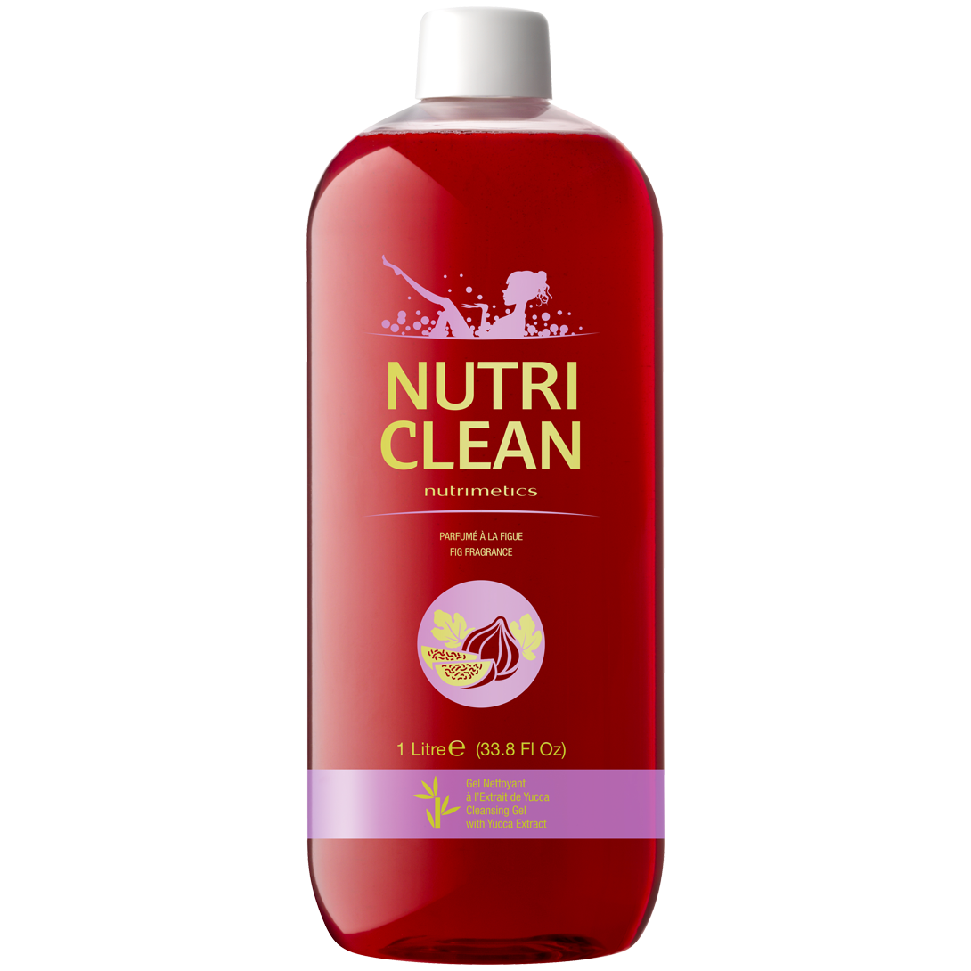 Produit - Nutrimetics France : Nutri Clean parfumé à la Figue - Gel douche