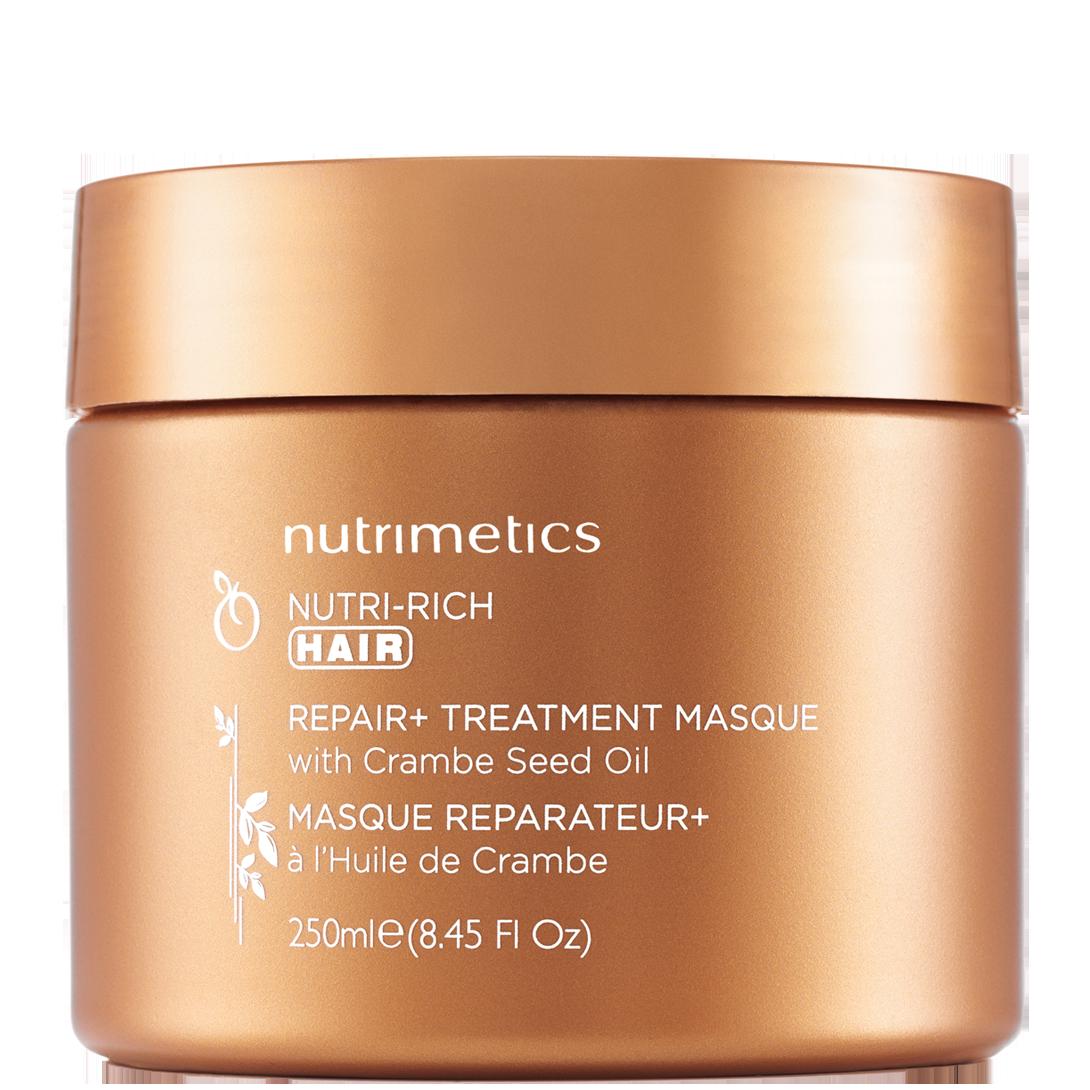Produit - Nutrimetics France : Masque Réparateur+ - Soin capillaire