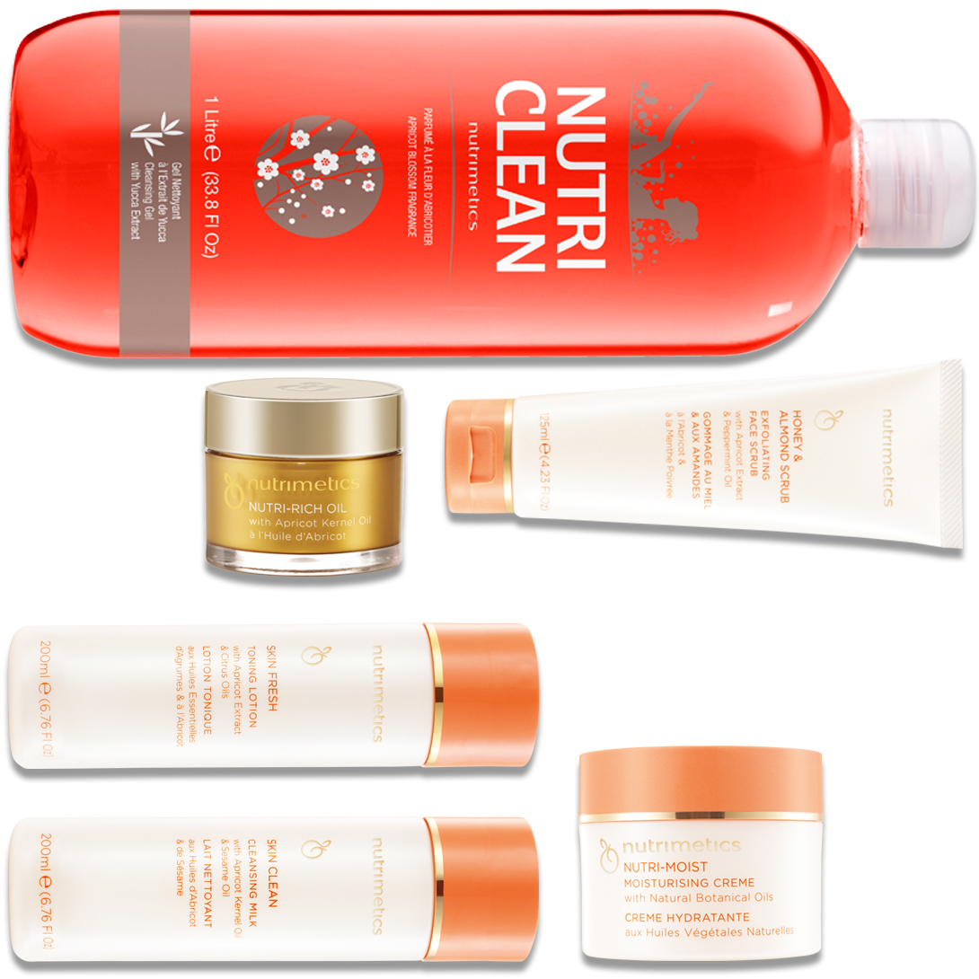 Produit - Nutrimetics France : La Collection Nutri Clean - Collections avec Nutri-Rich Oil