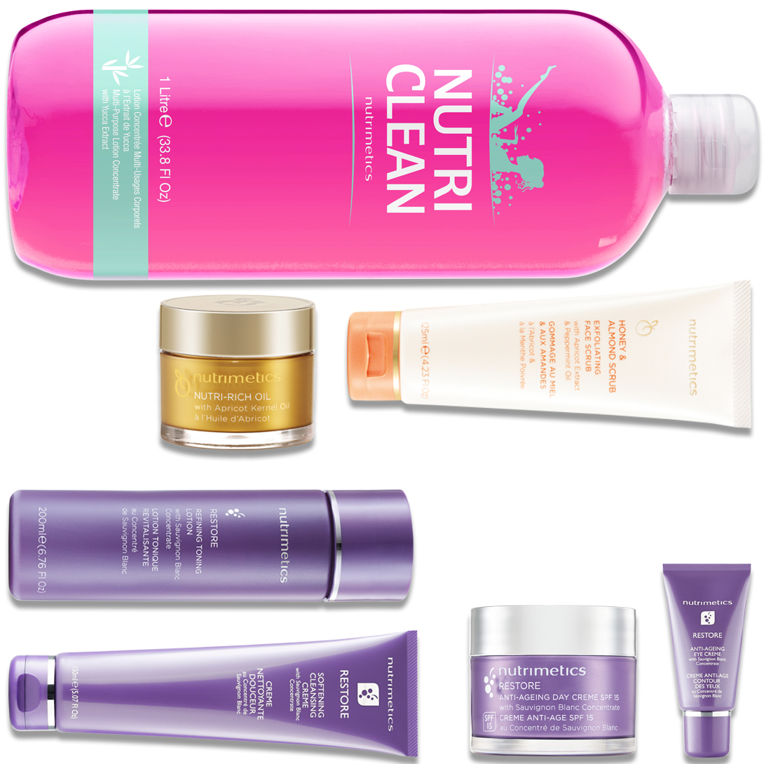 Produit - Nutrimetics France : La Top Collection  - Collections Restore