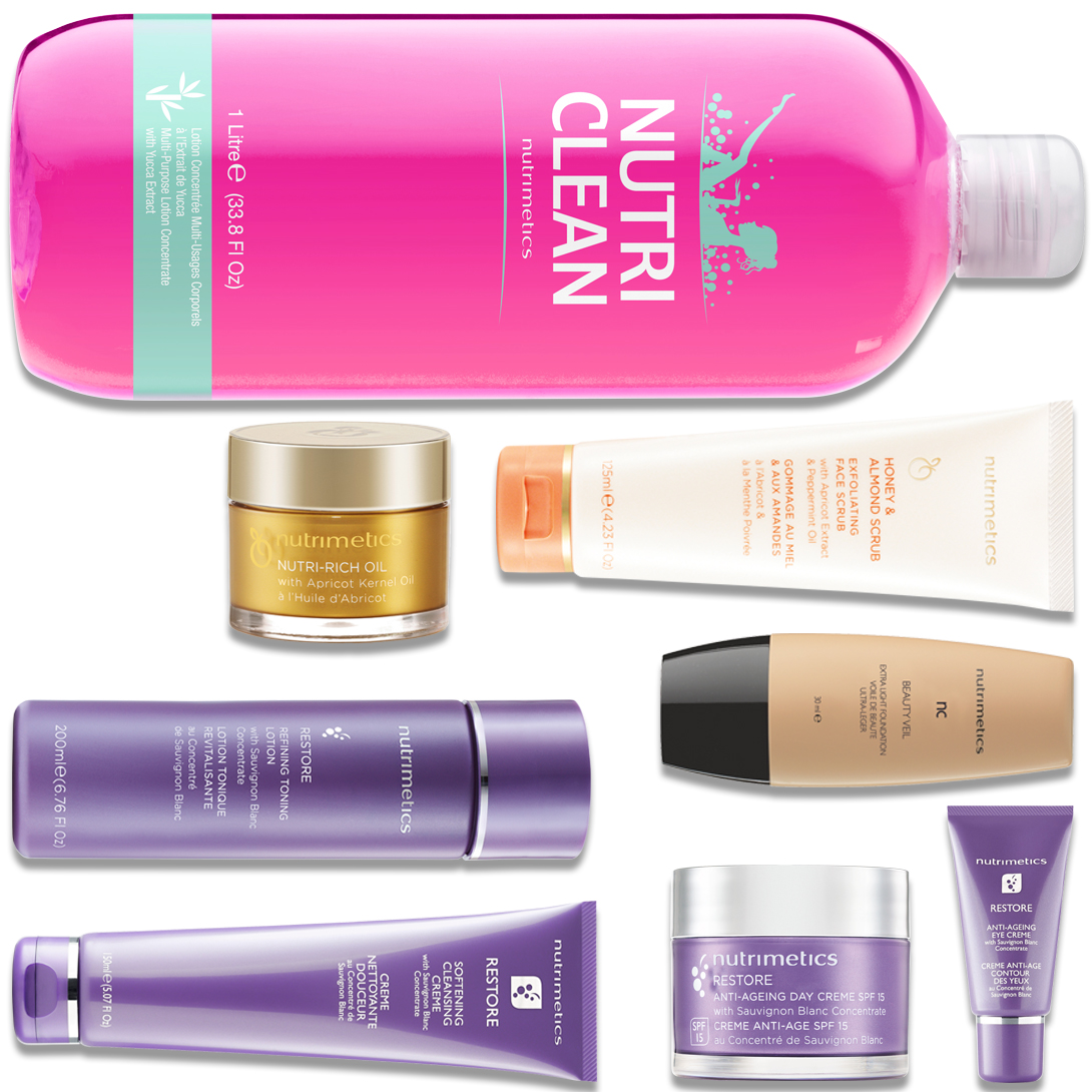 Produit - Nutrimetics France : La Top Collection Plus - Collections Restore