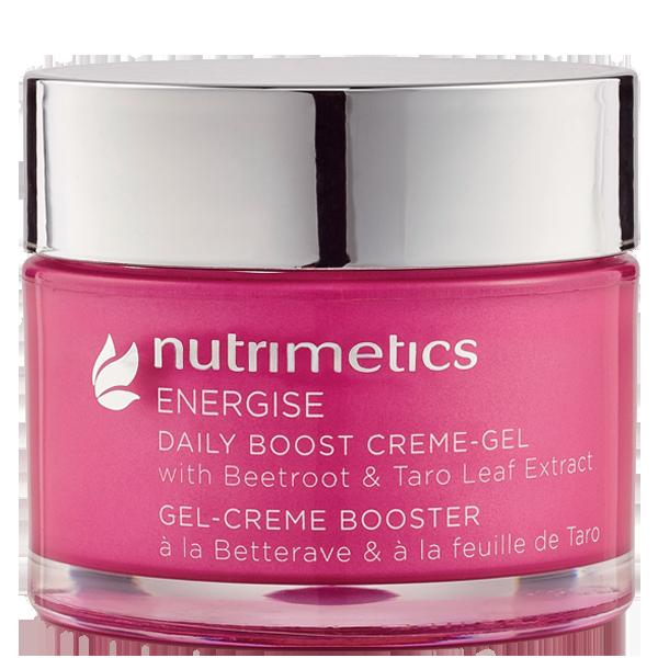 Produit - Nutrimetics France : Gel-Crème Booster - Energise - Peaux fatiguées