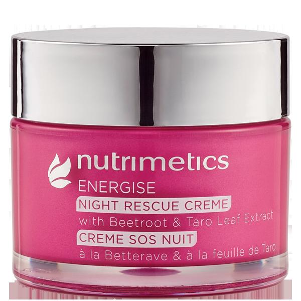 Produit - Nutrimetics France : Crème SOS Nuit - Energise - Peaux fatiguées