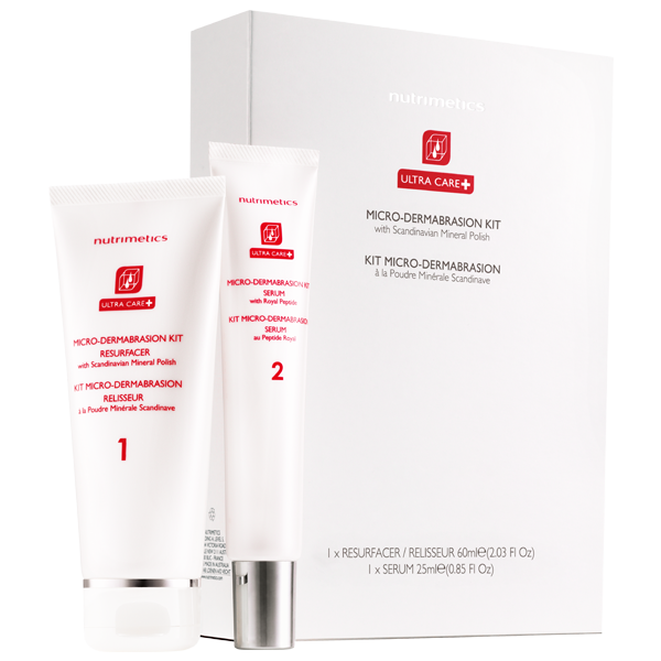 Produit - Nutrimetics France : Kit Micro-Dermabrasion - E-shop