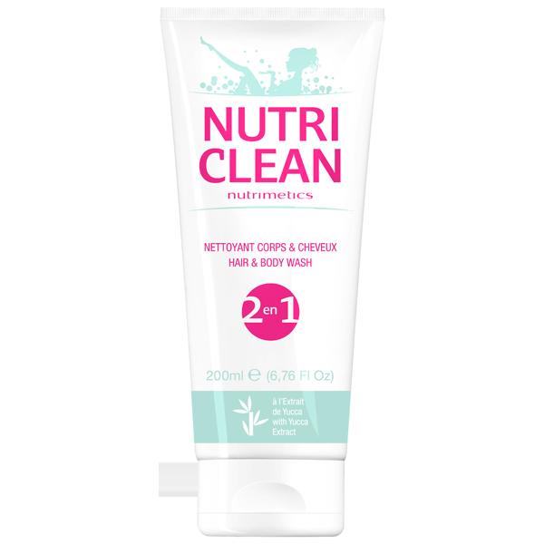 Produit - Nutrimetics France : Nettoyant Corps & Cheveux  - Gel douche