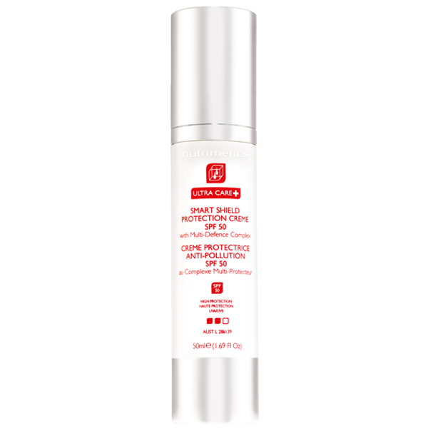 Produit - Nutrimetics France : Crème Protectrice Anti-Pollution SPF 50 - E-shop