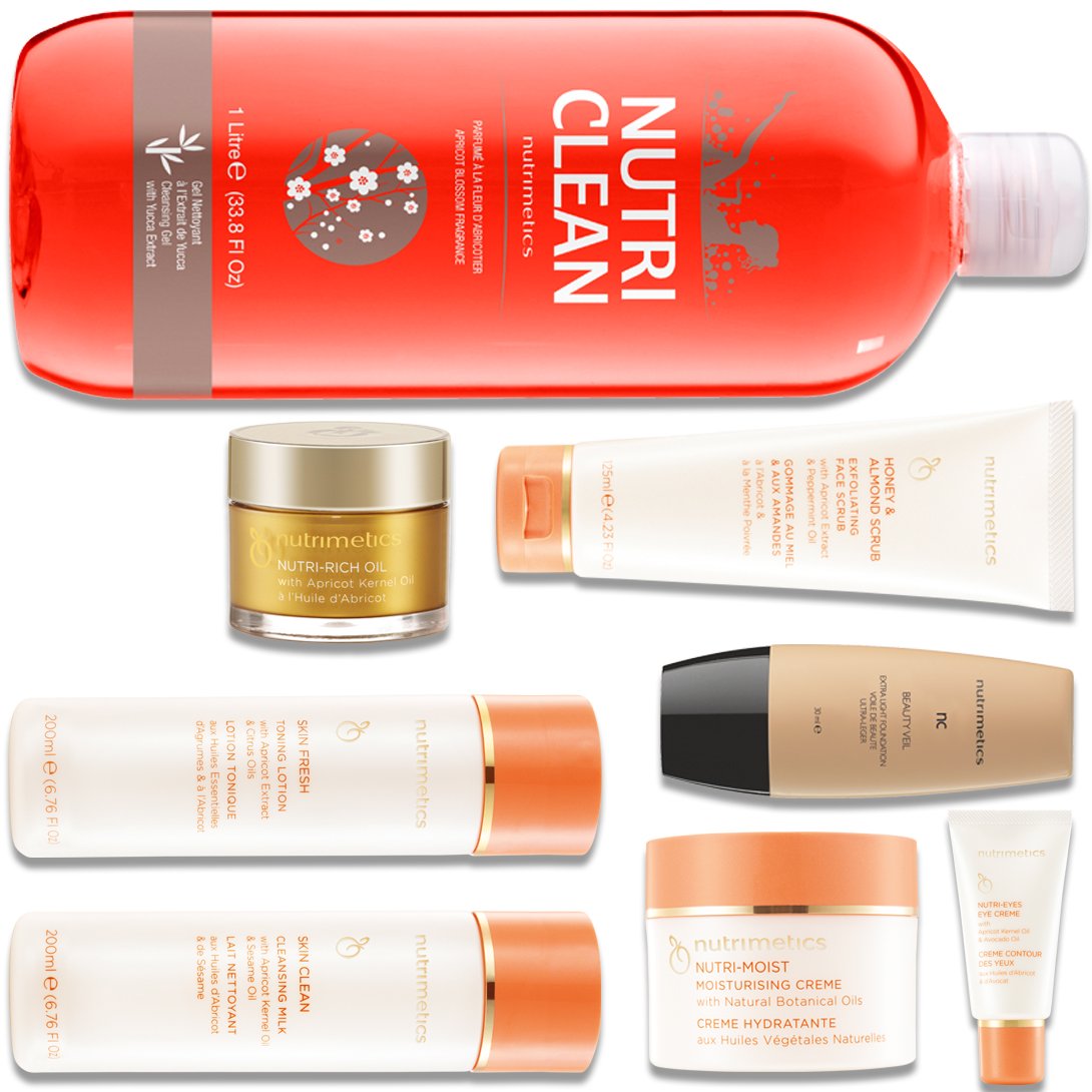 Produit - Nutrimetics France : La Top Collection Plus - Collections avec Nutri-Rich Oil