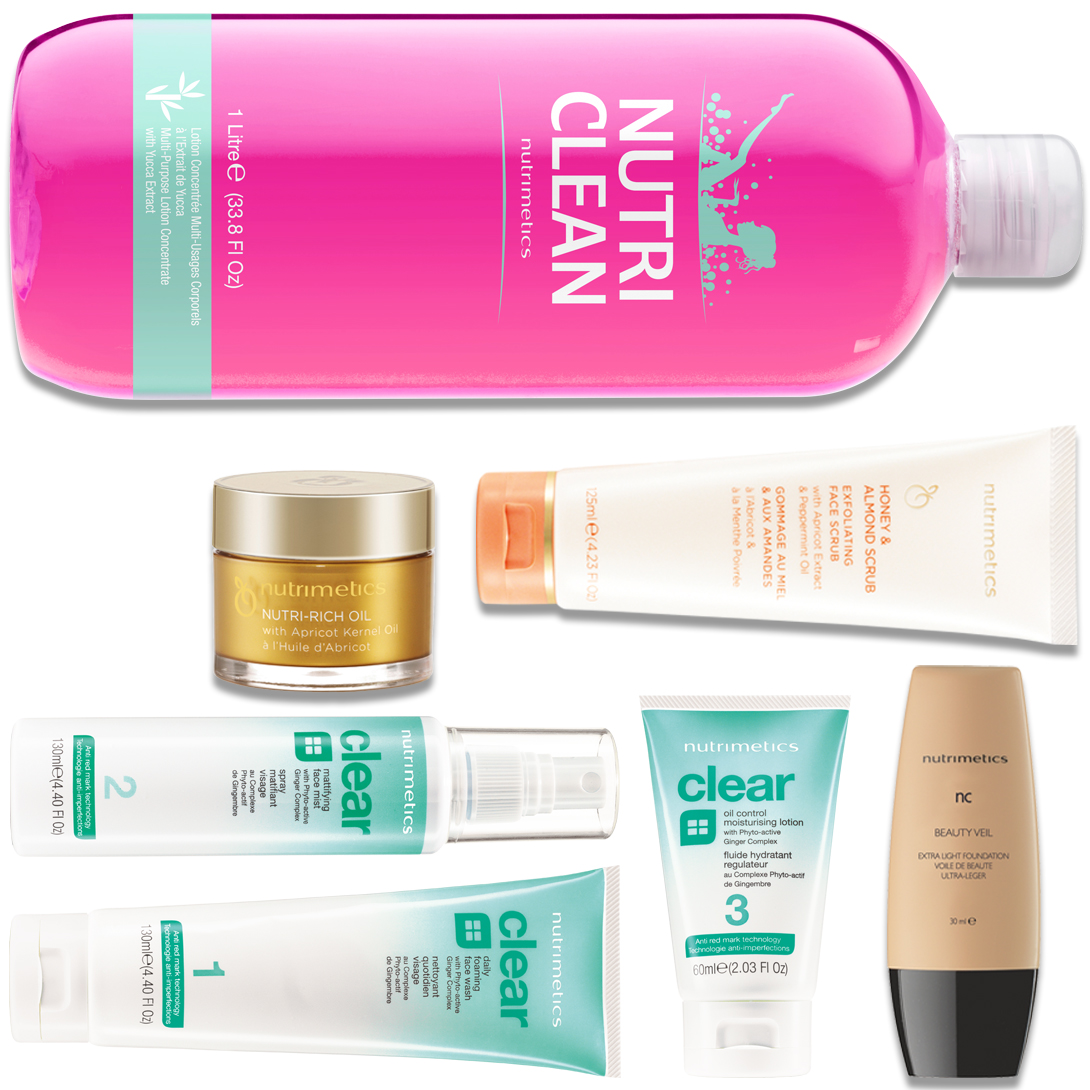 Produit - Nutrimetics France : La Top Collection - Collections avec Nutri-Rich Oil