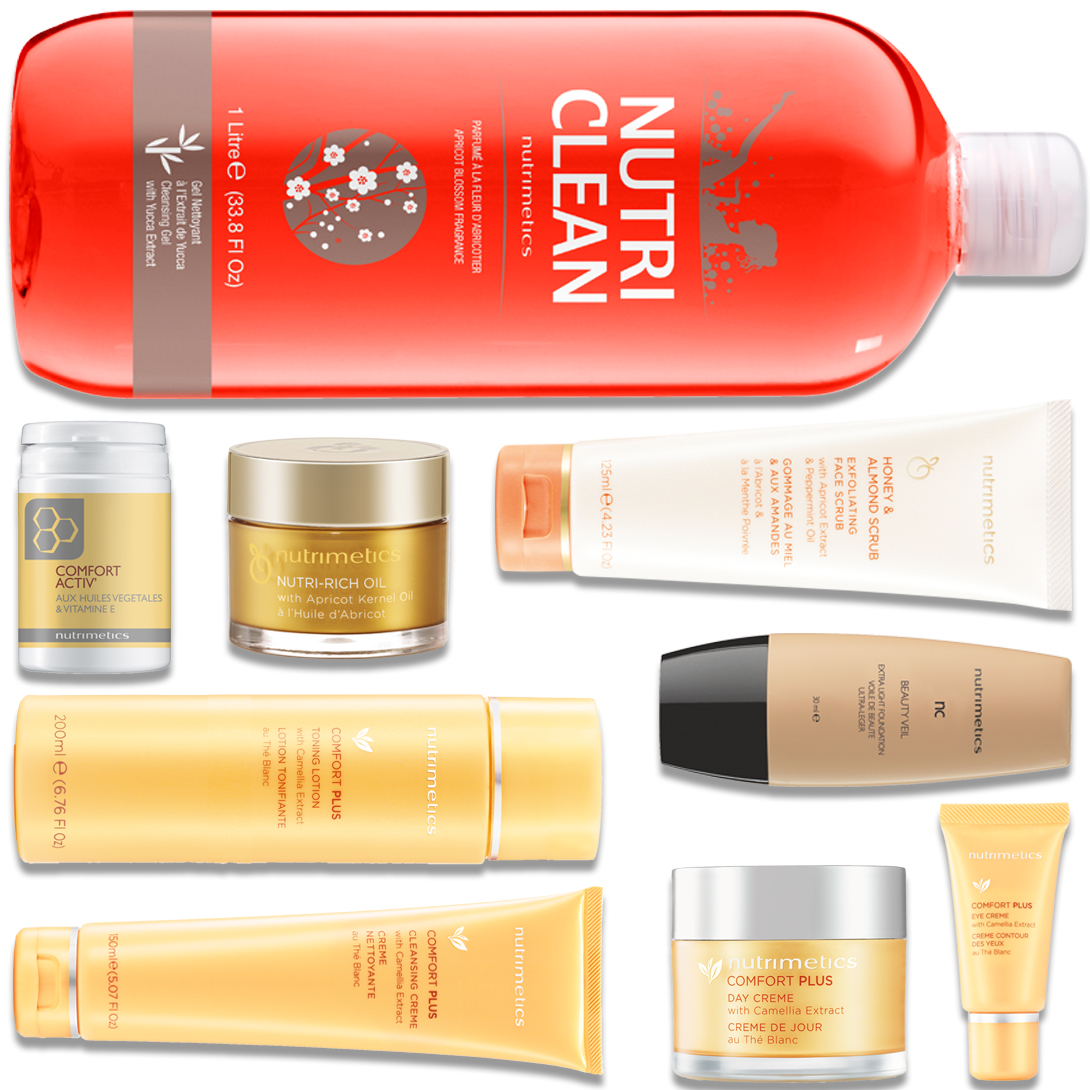 Produit - Nutrimetics France : La Collection Hunza - Collections Comfort Plus