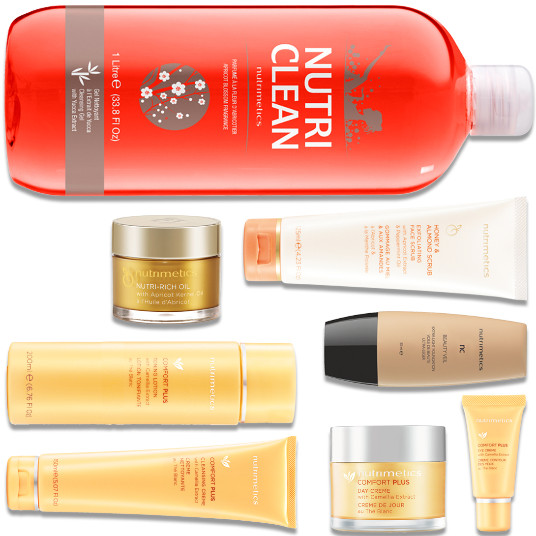 Produit - Nutrimetics France : La Top Collection Plus - Collections Comfort Plus