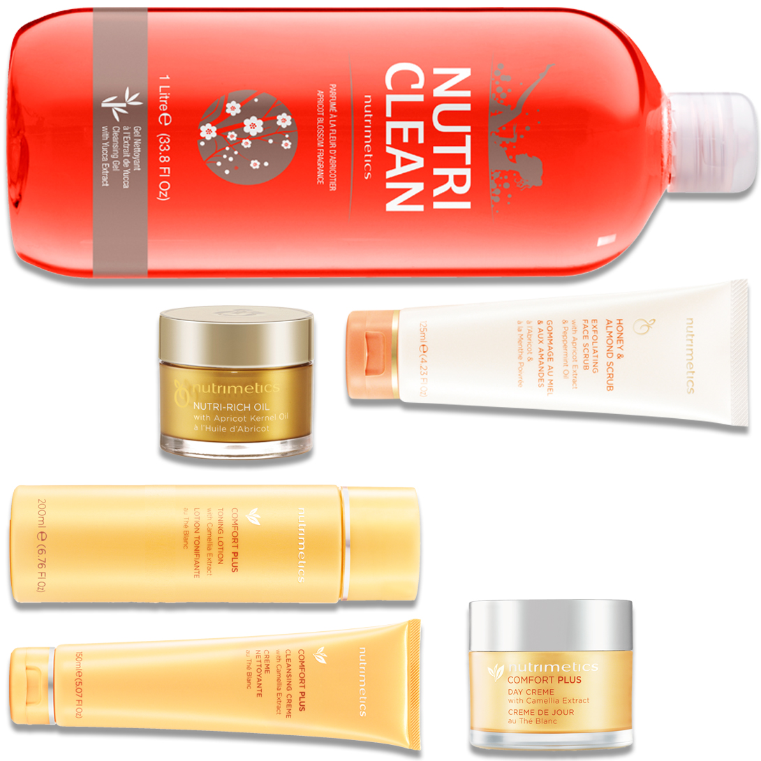Produit - Nutrimetics France : La Collection Nutri Clean - Collections Comfort Plus