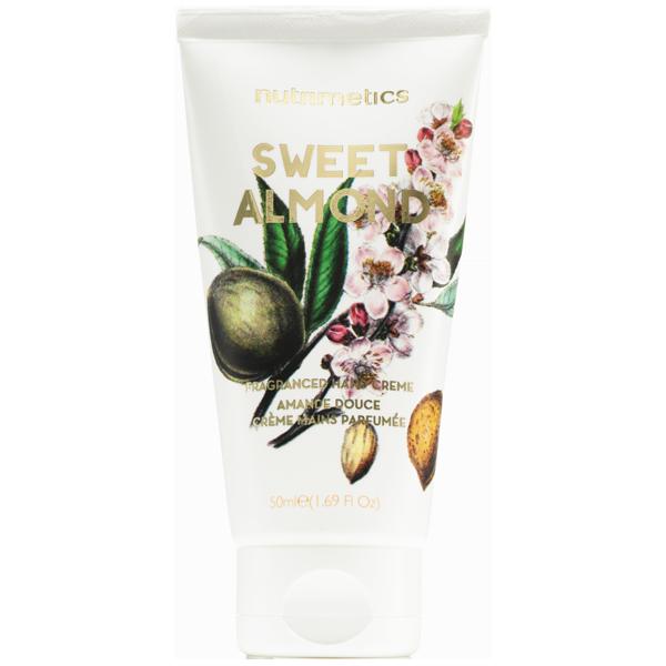 Produit - Nutrimetics France : Crème Mains Parfumée Amande Douce - Les Essentiels Corps