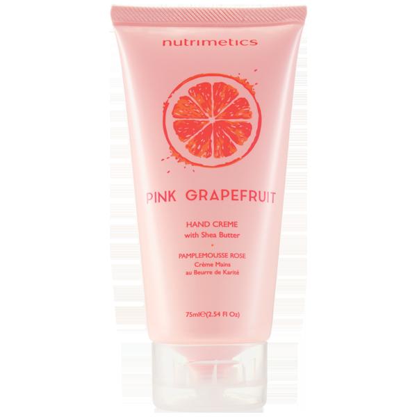 Produit - Nutrimetics France : Crème Mains Parfumée Pamplemousse Rose - Crème mains
