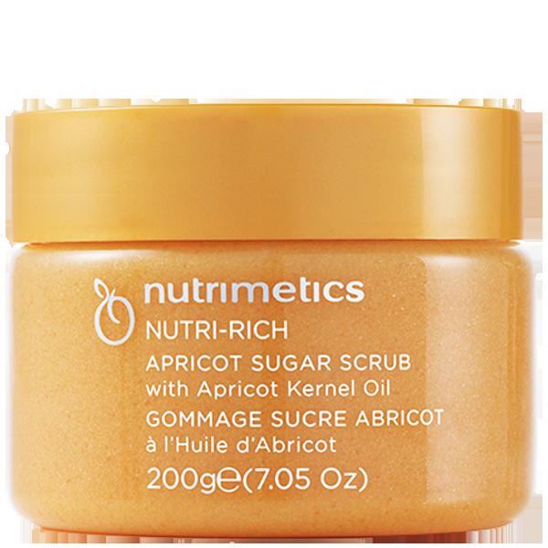 Gommage Sucre Abricot - Nutrimetics