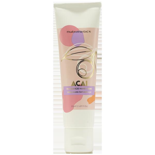 Produit - Nutrimetics France : Crème Mains Parfumée Açaï - Crème mains