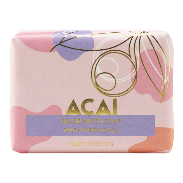 Produit - Nutrimetics France : Savon Parfumé Açaï - Savon