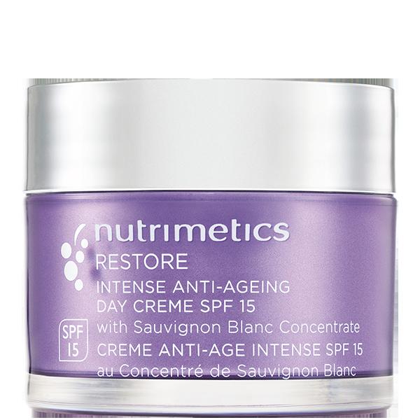 Produit - Nutrimetics France : Crème Anti-Âge Intense SPF 15 - Soin hydratant visage