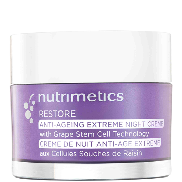 Produit - Nutrimetics France : Crème de Nuit Anti-Âge Extrême  - Soin hydratant visage