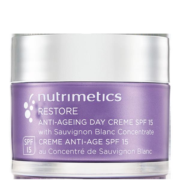 Produit - Nutrimetics France : Crème Anti-Âge SPF 15 - Soin hydratant visage
