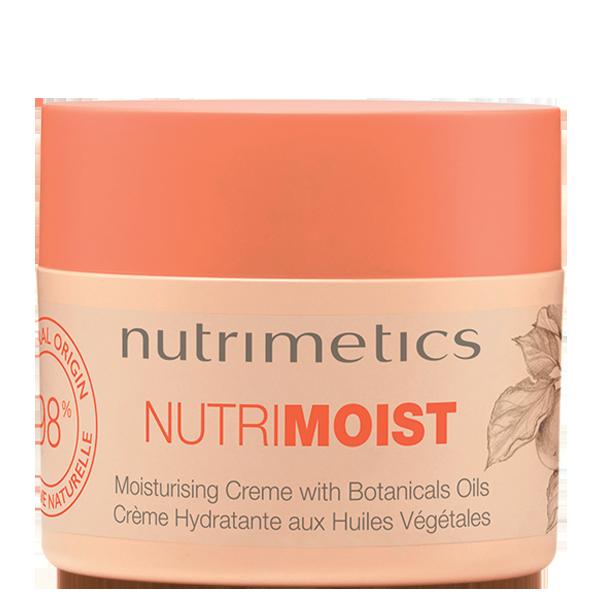 Crème Hydratante Nutri-Moist - Les nouveaux Essentiels - Tous types de peau - Nutrimetics