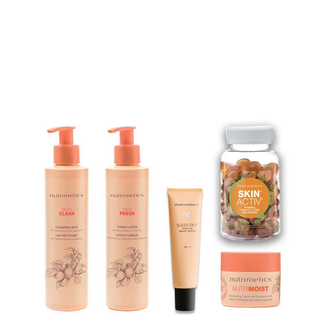 Produit - Nutrimetics France : La Collection Les Quotidiens 360° - Collections Les Essentiels