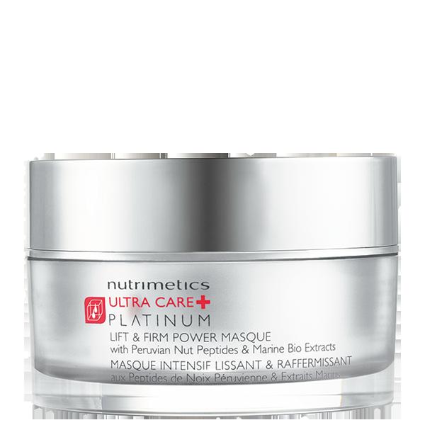 Produit - Nutrimetics France : Masque Intensif Lissant & Raffermissant - Platinum - Soins haute performance