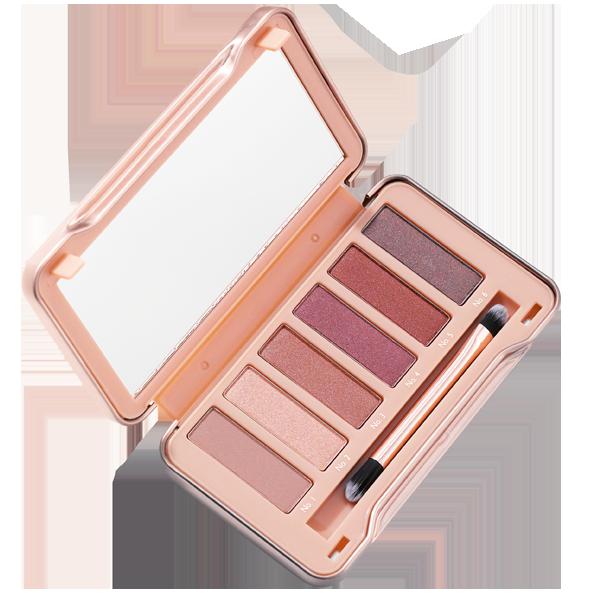 Produit - Nutrimetics France : Palette Ombres à Paupières Lust - Nutrimetics Colours