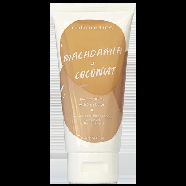 Produit - Nutrimetics France : Crème Mains Macadamia & Noix de Coco - E-shop
