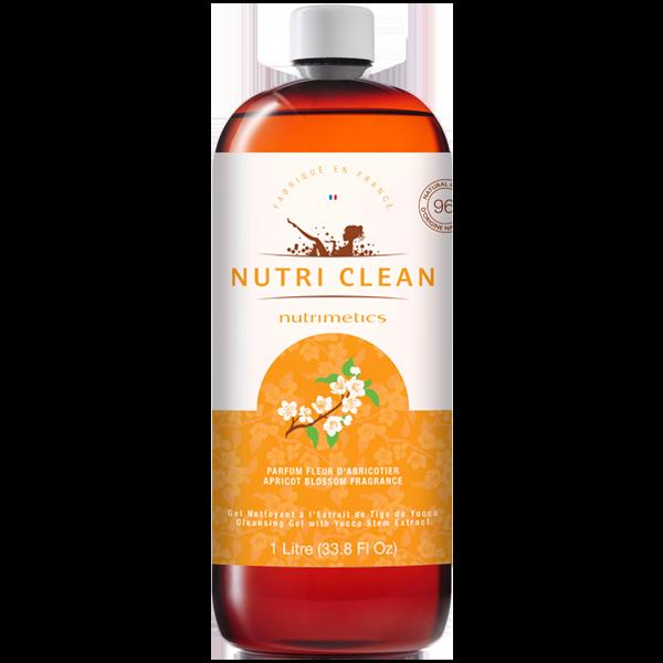 Produit - Nutrimetics France : Gel Nettoyant Nutri Clean parfumé Fleur Abricotier - Gel douche