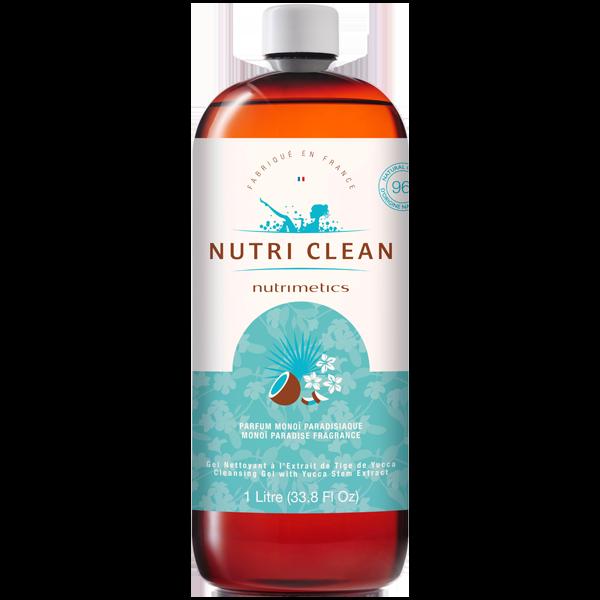 Produit - Nutrimetics France : Gel Nettoyant Nutri Clean Monoï Paradisiaque - Gel douche